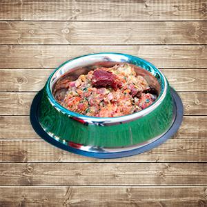 Dieta BARF para perros - Menús congelados, carnes y vísceras