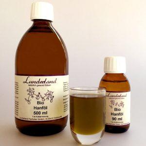 Aceite de cáñamo orgánico