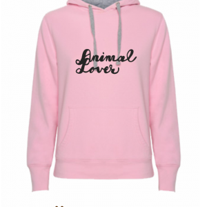 Sudadera_rosa_Animal_lover