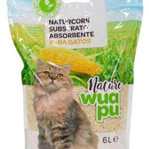 Aglomerante natural para gatos