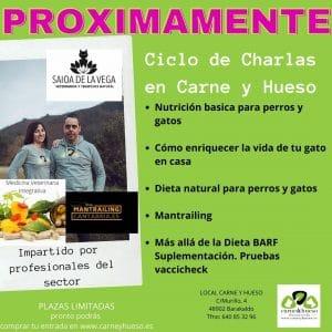 Charlas alimentacion natural en Bizkaia