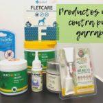 Productos repelentes naturales contra pulgas y garrapatas